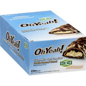 OhYeah! Cookie Caramel Crunch Bars