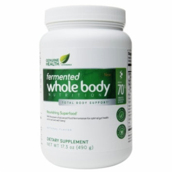 Genuine Health Fermented Whole Body Nutrition, Natural, 17.3 oz