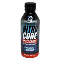 Science Foods Nitro Core, Fruit Punch, 20 - 20 fl oz (591 ml) bottles
