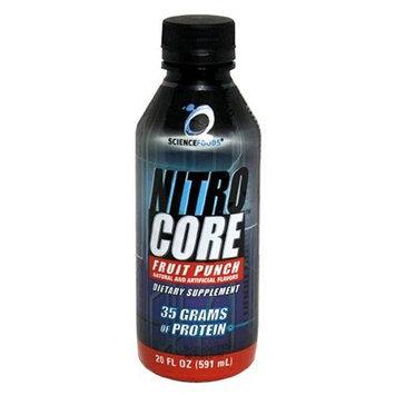 Science Foods Nitro Core, Fruit Punch, 20 - 20 fl oz (591 ml) bottles