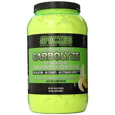 Species Nutrition Carbolyze, Fruit Punch, 4.51-pound Tub