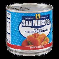 San Marcos Pickled Sliced Carrots