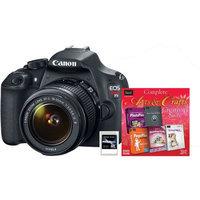 Canon 9126B003-3B-KIT Eos Rebel T5 Ef-s 18-55mm Is Sftwr[50586] 8GB Sd Card[da-sd1008g-r]