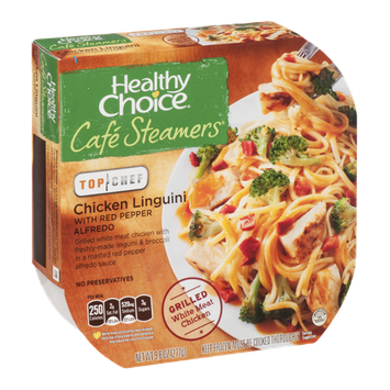 Healthy Choice Cafe Steamers Top Chef Chicken Linguini