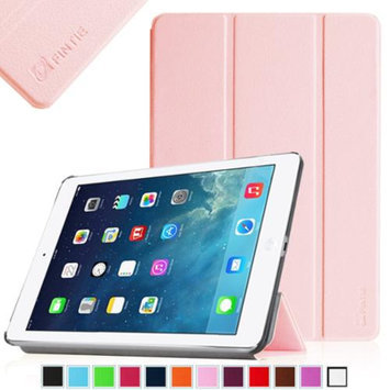 iPad Air 2 Case - Fintie Ultra Slim Stand Case with Auto Wake / Sleep Feature for Apple iPad Air 2 (iPad 6), Pink
