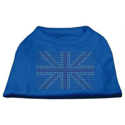 Mirage Pet Products 52-16 SMBL British Flag Shirts Blue Sm - 10