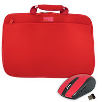 Pc Treasures, Inc. PC Treasures 19686 Slipit15 in. Pro with ClickIt Mouse - Red