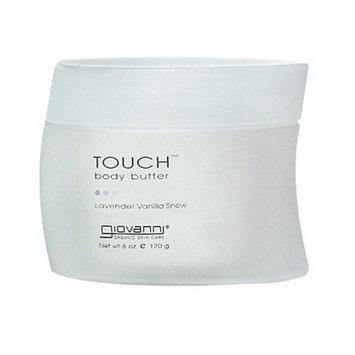 Giovanni Touch Body Butter-Lavender Vanilla Snow-6, oz.