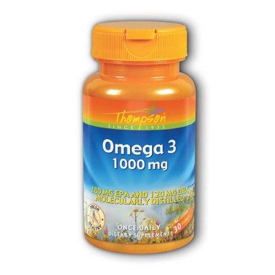 Thompson - Omega 3 1000 mg. - 30 Softgels
