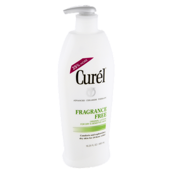 Curel Fragrance Free Dry & Sensitive Skin Original Lotion