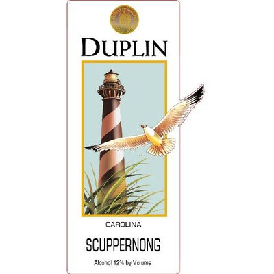 NV Duplin Wine Cellars Scuppernong Carolina Muscadine 750 mL