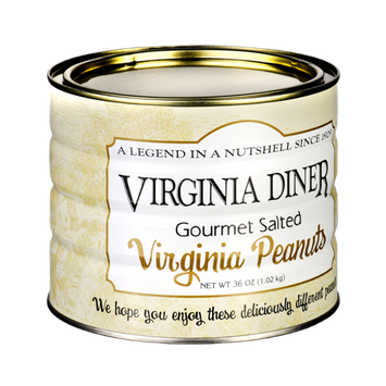 Virginia Diner Gourmet Salted Virginia Peanuts
