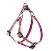 Lupine 1/2 Inch Cherry Blossom Step In Dog Harness