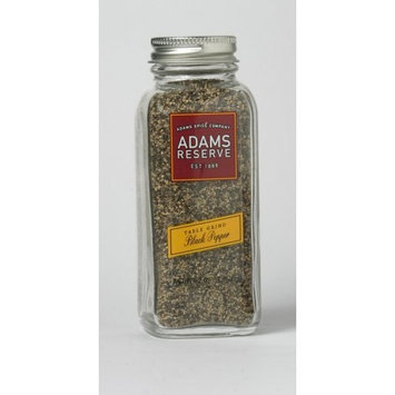 Adams Extracts Table Grind Black Pepper, 2.09-Ounce Glass Jar (Pack of 6)