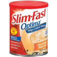 Slim-Fast Optima French Vanilla Shake Mix 12.83 oz