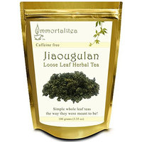 The Immortalitea Company Jiaogulan Tea (Gynostemma Tea) - Premium Grade Loose Leaf