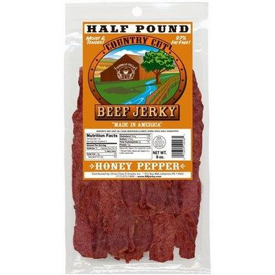 Buffalo Bills Premium Snacks Buffalo Bills 8oz Honey Pepper Country Cut Beef Jerky Pack