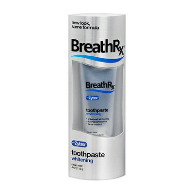 Breath Rx Whitening Toothpaste Clean MInt
