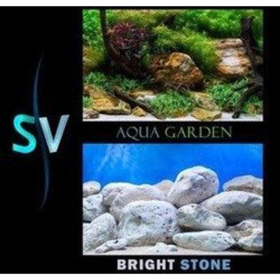 Mojetto Seaview AVWBGAQ212 Aquarium Brightstone Background, 12-Inch by 50-Feet