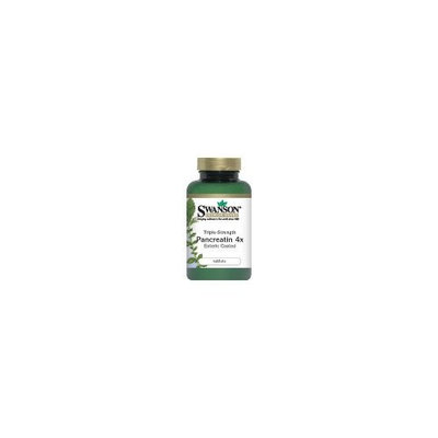 Swanson Premium Triple-Strength Pancreatin 300 Tabs