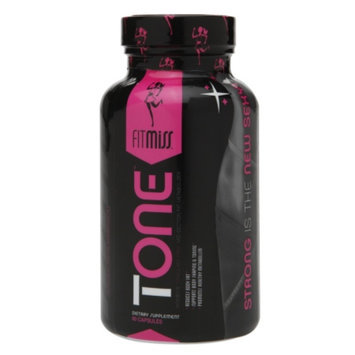 FitMiss Tone Women's Stimulant Free Mid-Section Fat Metabolizer, Capsules, 60 ea