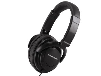 Monoprice 108324 Hi Fi Light Weight Over The Ear Headphone For Cellphones Retail Packaging HEC0FWWYR-1612