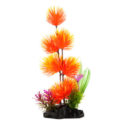 Top FinA Orange Ball Aquarium Plant