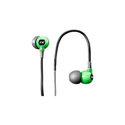 X-1 Audio Trax Runner'S Waterproof Headphones, Green