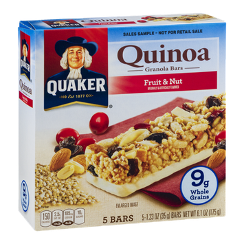 Quaker Quinoa Granola Bars Fruit & Nut