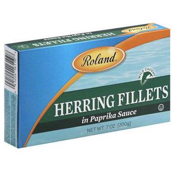Roland Herring Fillets in Paprika Sauce, 7 oz, (Pack of 12)
