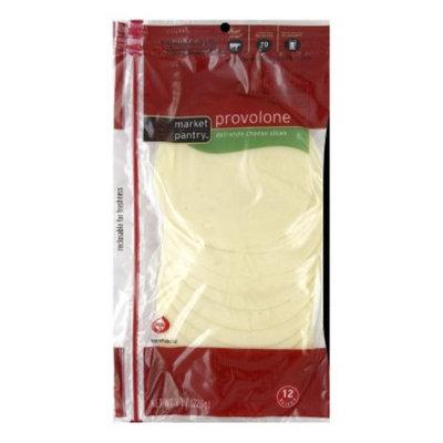 Market Pantry Deli Sliced Provolone Cheese - 8 oz. 12 Slices