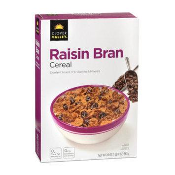 Clover Valley Raisin Bran Cereal - 20 oz