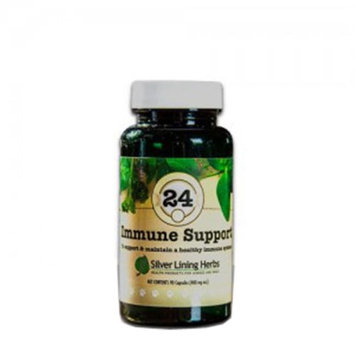Silver Lining Herbs k24c Immune Support 24 Immune Support