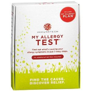 MyAllergyTest Tests for Airborne and Food Allergens