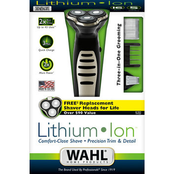 Wahl Lithium Ion Three-in-One Grooming System