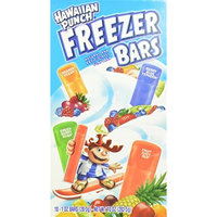 Hawaiian Punch, 10 Count, 1oz Freezer Bars (Pack of 12)