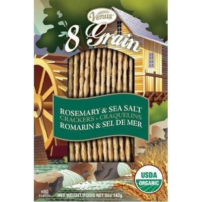 Venus 8 Grain Rosemary & Sea Salt Cracker 5 oz. (Pack of 12) ( Value Bulk Multi-pack)