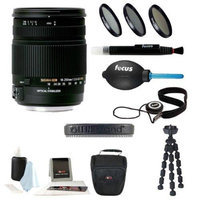 Sigma 18-250mm f3.5-6.3 DC MACRO OS HSM for Canon Digital SLR Cameras with Lens