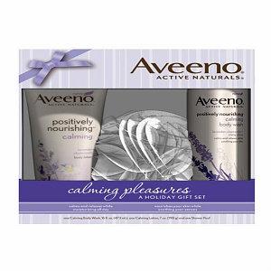 Aveeno Calming Naturals A Holiday Gift Set