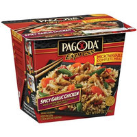 Pagoda Express Complete Meal Spicy Garlic Chicken, 14 oz
