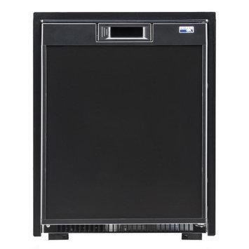 Norcold Universal Voltage Marine Refrigerator, Black, 2 Cubic ft.