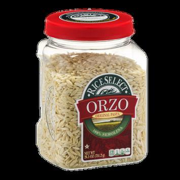 RiceSelect Orzo Original Pasta 100% Semolina