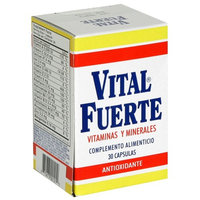 Vital Fuerte Vitamins And Minerals Capsules Antioxidant 30 Count