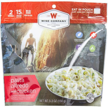 Wise Company Inc Wise Company Pasta Alfredo with Chicken Prepared Meal, 5.3 oz
