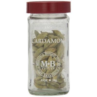 Morton & Bassett Organic Cardamom, .9-Ounce Jars (Pack of 3)