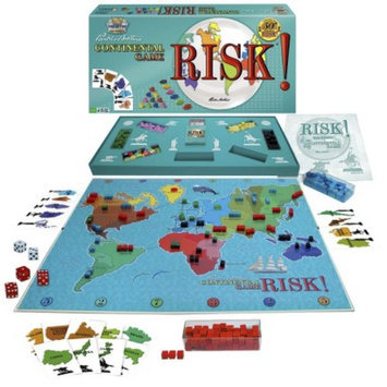 Winning Moves Classic Reproduction 1959 First Edition Risk Board Game