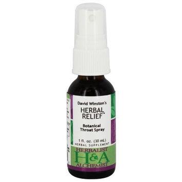 Herbalist Alchemist Herbalist & Alchemist - Herbal Relief Botanical Throat Spray - 1 oz.