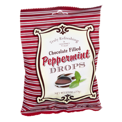 Truly Refreshing Chocolate Filled Peppermint Drops
