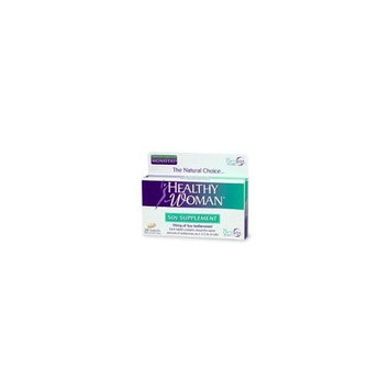 Healthy Woman Menopause Soy Supplement, 28-Count Tablets (Pack of 3)
