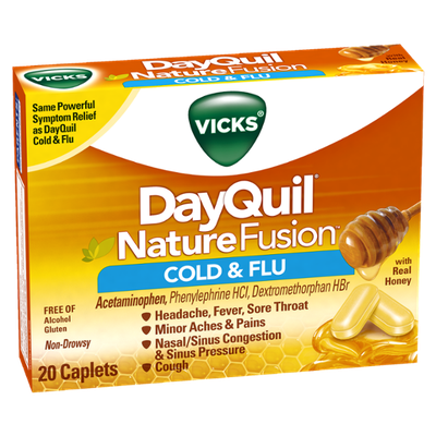 DayQuil™ Nature Fusion Cold & Flu Relief Caplets